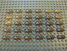 Lego Lot Of 30 Printed/Decorated Control Panel Gauge Printed Electric Train Tile
