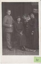 Famille de Soldat allemand guerre 14-18 photo sur CPA lot 40