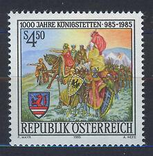 AUSTRIA 1985 MNH SC.1324 Konigstettien 1000th