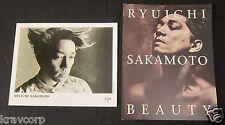 RYUICHI SAKAMOTO 'BEAUTY' 1990 PRESS KIT—PHOTO/BOOKLET