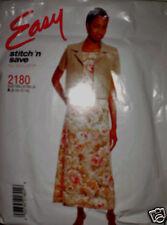 Vintage McCalls Pattern Dress Jacket 2180 SEWING 8 10