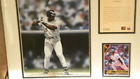 Frank Thomas Chicago White Sox 11x14 matted Print Numbered Future Baseball HOf