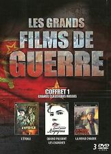 COFFRET 3 DVD – Les Grands Films de Guerre Vol.1