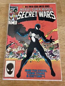 Marvel Super Heroes Secret Wars 8 1984 VG 1st Black Costume Venom Symbiote