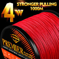 1000M PE Fishing Line 4 Strands Weaves Multifilament Braided Line 6LB-100LB Wire