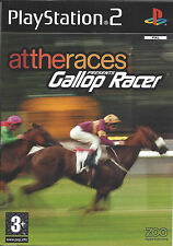 ATTHERACES PRESENTS GALLOP RACER for Playstation 2 PS2 - with box & manual - PAL