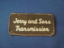 Jerry And Sons Transmission Logo Iron On Patch - Located in Arkansas