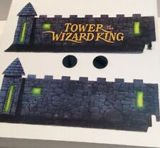 Tower of the Wizard Board Game 1993 Walls and Stands Replacement Pieces