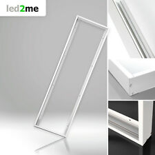 Xtend LED Panel Rahmen 120x30cm weiß zur Aufputz-Montage leichte Installation