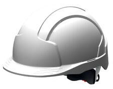 JSP Evolite Vented Standard Peak Revolution Wheel Ratchet and 3d Adjustment System En397 White