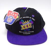 b0a3086621ddfb Super Bowl XXXI Baseball cap 1997 New Orleans Superdome Snapback NWT