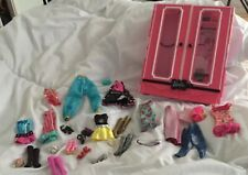 Barbie wardrobe clothes Shoes bundle