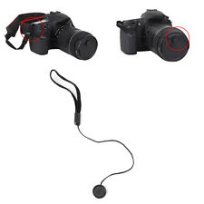 5pcs Lens Cover Cap Holder Keeper String Leash Strap Rope For Canon Nikon Camera