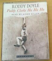 AUDIO BOOK Roddy Doyle PADDY CLARKE HA HA HA on 2 x cass read by Aidan Gillen