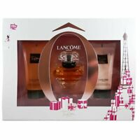 Lancome Tresor Gift Set Edp 30ml + Shower Gel 50ml + B. Lotion 50ml 100%Original