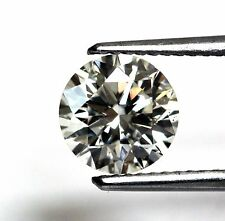 GIA loose certified 1.52ct SI1 J round diamond 7.34-7.42x4.53mm vintage estate