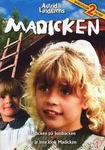 DVD 2 Filme Madicken Madita inte klok Junibacken SCHWEDISCH Astrid Lindgren NEU