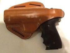 BLACKHAWK! 3-Slot Pancake Leather Brown CQC Holster - Sig Sauer P220 P226