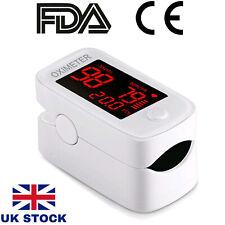 Fingertip Pulse Oximeter Blood Oxygen Saturation SpO2 Meter Finger PR Monitor UK