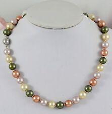 Markenlose Modeschmuck-Halsketten & -Anhänger aus Muschel und Edelstahl
