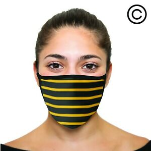 YELLOW STRIPE Cover your face - face mask