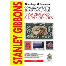 Stanley Gibbons Commonwealth Stamp Catalogue New Zealand Color Price Guide NEW