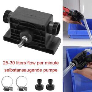 Bohrmaschine Selbstansaugende Transfer Pumpe Für Öl Wasser Flüssigkeit Bohrpumpe