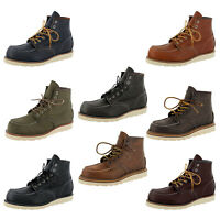 Red Wing Mens Classic Moc 6-Inch Leather Boots