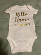 "birth announcement Onepiece ""hello Nana�"