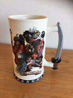 Disney Pirates of the Caribbean Coffee Mug Stein Tankard   Sword Handle 7""
