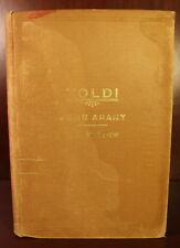 Toldi John Arany 1st American Edition SIGNED Hungary Hungarian Poetry European