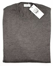 Men's COUNTRY CLUB Italy Taupe Wool Pullover Jumper Crewneck Sweater 50 M NWT