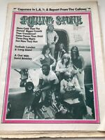 Vintage Rolling Stone Magazine 1971 Newspaper Style Three Dog Night 70's NOS RS