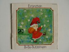 "ES TANZT EIN BI-BA-BUTZEMANN 7"" Vinyl - MARCATO Hi-Fi 41572 - Klappcover + Buch"