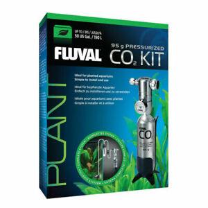 Fluval Pressurized CO2 Kit Plants & Planted Aquariums Bracket 95g.