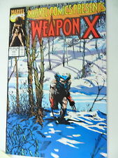 1 x BD-usa-weapon x-Nº 77-anglais-Marvel-z.1