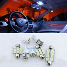 12V White 14x Light LED SMD Interior Package Kit For 2004~2006 Volvo S40