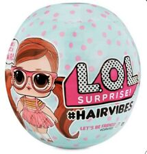 1 LOL Surprise Hair Vibes Doll Ball Hairvibes Dolls W/ 15 Surprises Mix & Match