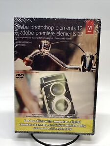 Adobe Photoshop Elements 12 & Adobe Premiere Elements 12 for PC or MAC