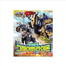 LT-06 BANDAI Power Ranger Gobusters DX Mission Coalescence Great Lion Buddy_MC