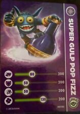 Super Gulp Pop Fizz Skylanders Swap Force Stat Card