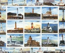 Sheet Architecture Postal Stamps