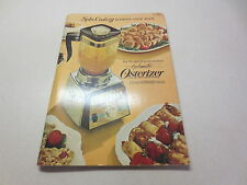 Spin Cookery Blender Cook Book Cyclomatic Osterizer Liquefier Blender paperback