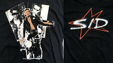 Sid Vicious 80's Vintage T-Shirt Sex Pistols Punk Rock Star Large Unworn