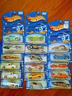 NEW VINTAGE MATTEL HOT WHEELS COLLECTIBLES LOT OF 17 RARE VHTF FROM 2000