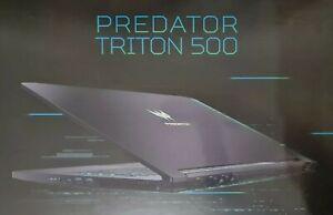 Acer Predator Triton 500 15.6inch gaming laptop 300Hz RTX 2070 Super. Boxed.