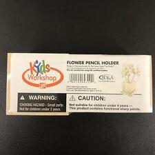 Home Depot Wooden Kids Workshop Flower Pencil Holder Kit