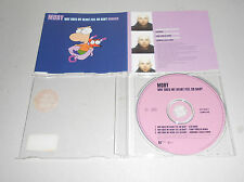 Single CD Moby - Why Does My Heart Feel So Bad? (Remix)  1999  3.Tracks  94
