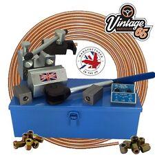 Freno Abocardador de tubos 0.5cm SAE and 4.75mm DIN Profesional Doble Individual