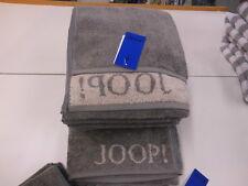 Joop! Handtuch 50 x 100 cm Classic Doubleface 1600 FB 70 graphit